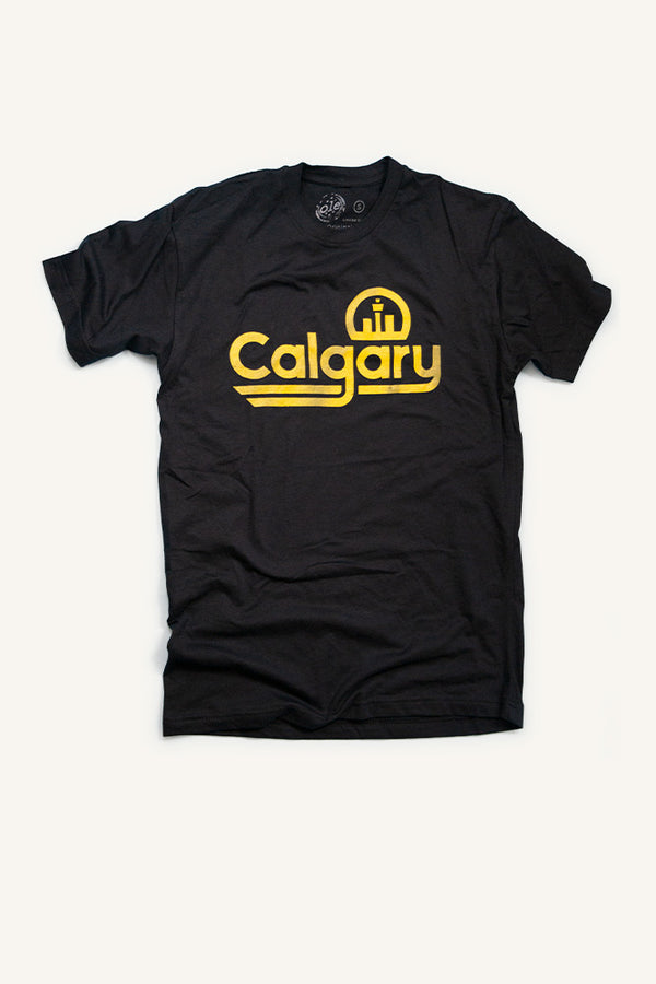 Retro Calgary T-shirt - Ole Originals Clothing Co.