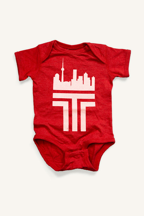 Toronto 'T' Onesie - Ole Originals Clothing Co.