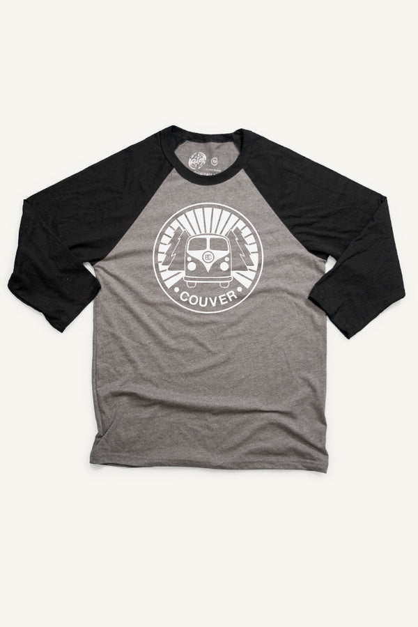 VAN Couver Baseball Shirt (Unisex) - Ole Originals Clothing Co.