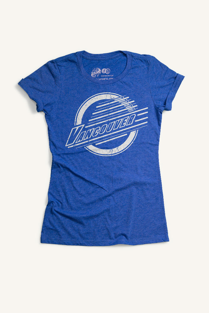 Vancouver Lines T-shirt - Womens - Ole Originals Clothing Co.