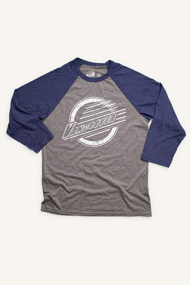 Vancouver Lines Baseball Shirt (Unisex) - Ole Originals Clothing Co.