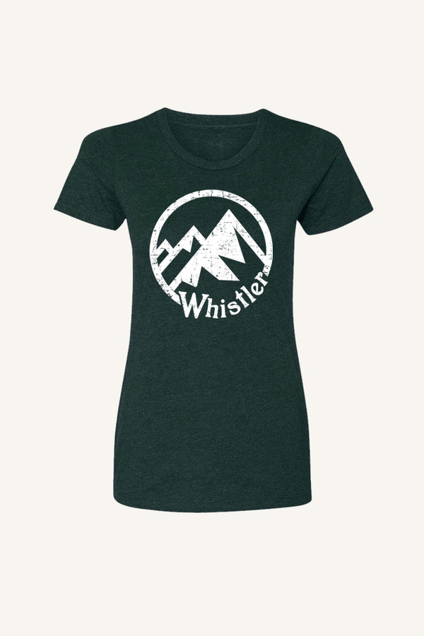 Whistler Mountain T-shirt - Womens - Ole Originals Clothing Co.
