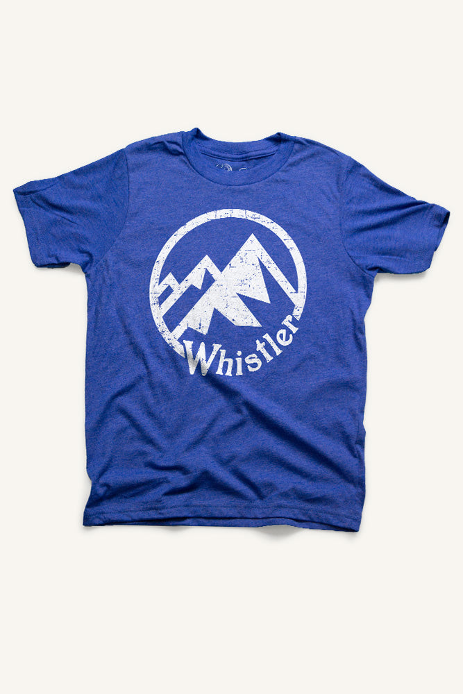 Whistler Mountain T-shirt - Ole Originals Clothing Co.