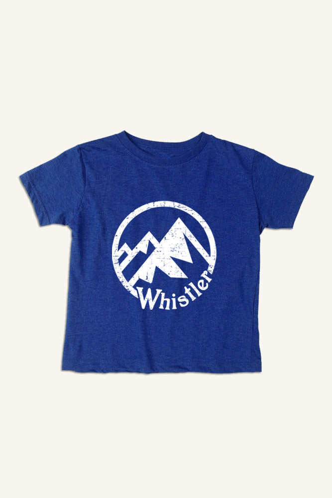 Lil' Ole Whistler Mountain T-shirt - Ole Originals Clothing Co.