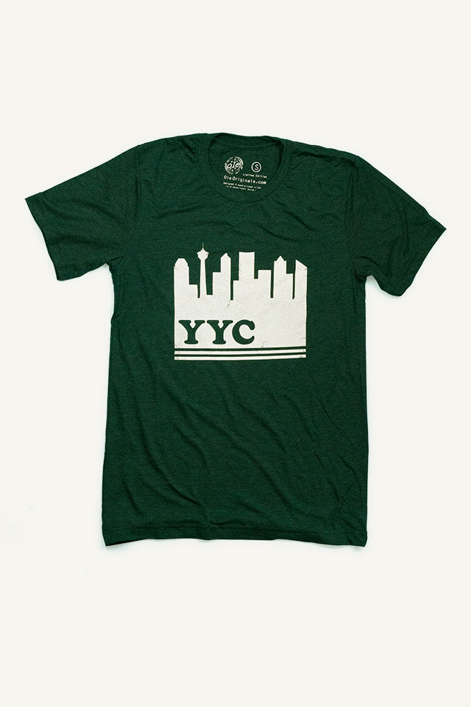 Calgary YYC T-shirt - Ole Originals Clothing Co.