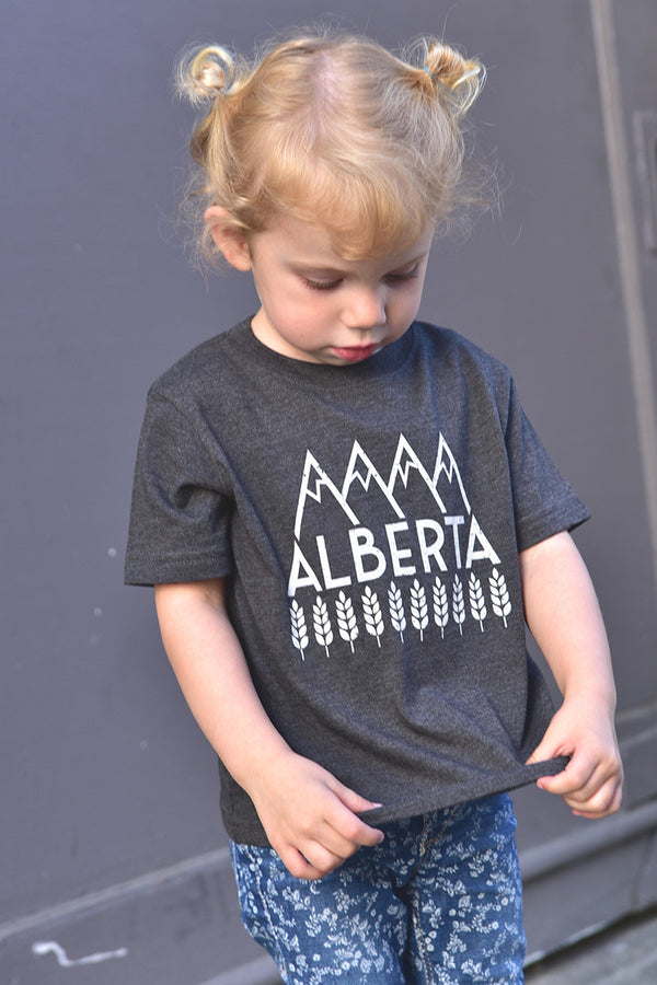 Lil' Ole Explore Alberta T-shirt - Ole Originals Clothing Co.