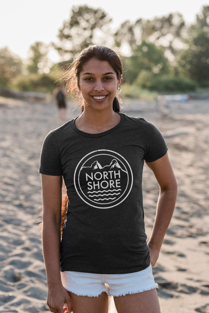 North Shore Rescue T-shirt - Womens - Ole Originals Clothing Co.