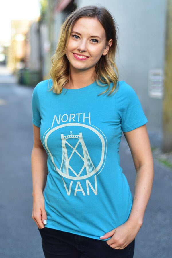 North Van T-shirt - Womens - Ole Originals Clothing Co.