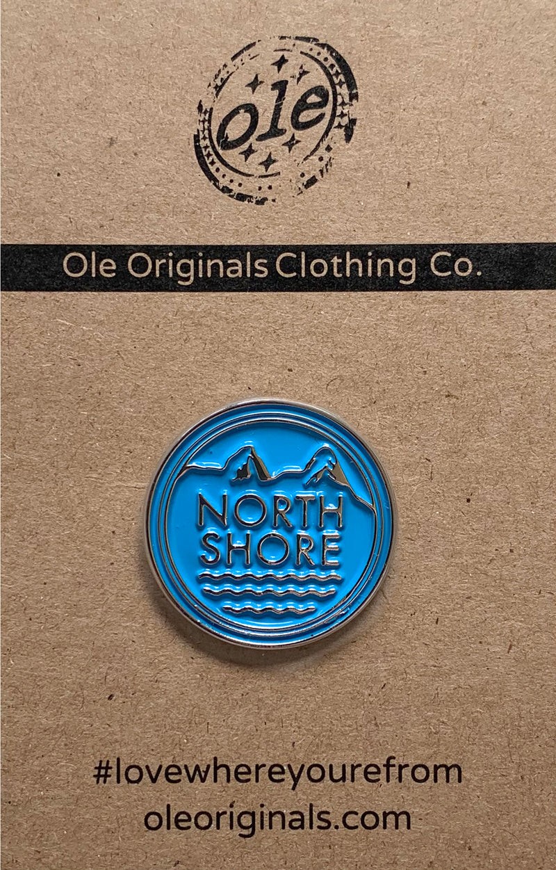 Enamel Pin - North Shore Rescue - Ole Originals Clothing Co.