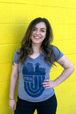 Retro Vancouver V-neck T-shirt - Ole Originals Clothing Co.