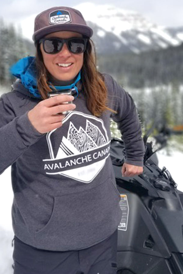 Avalanche Canada Hoodie (Unisex) - Ole Originals Clothing Co.
