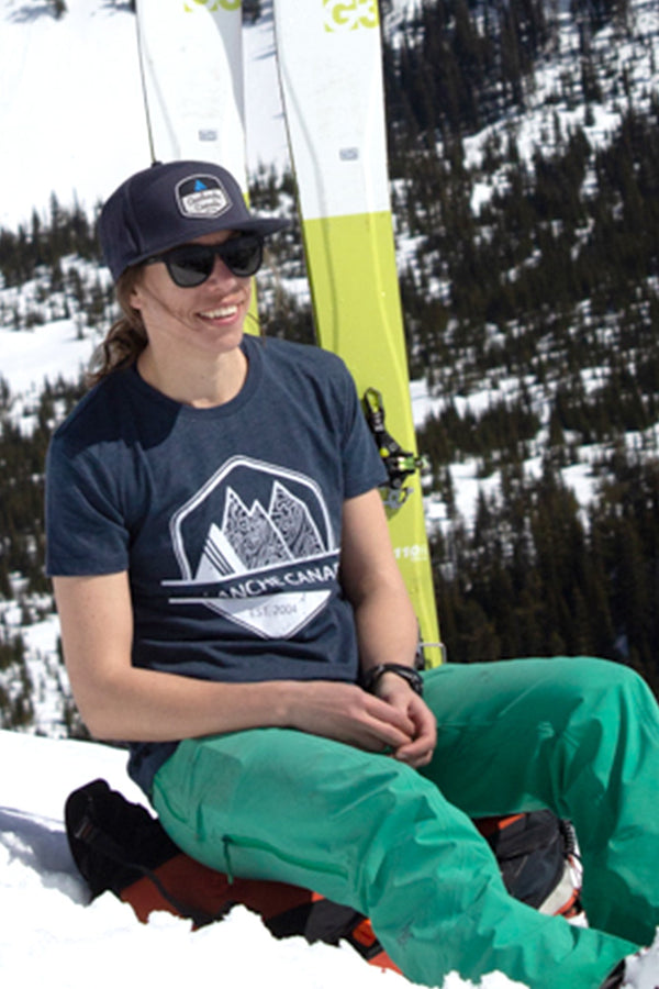 Avalanche Canada T-shirt - Womens - Ole Originals Clothing Co.