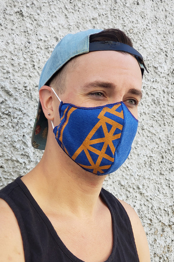 Upcycled Face Mask - Ole Originals Clothing Co.