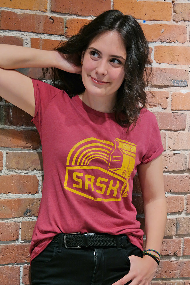 Sask T-shirt - Women - Ole Originals Clothing Co.