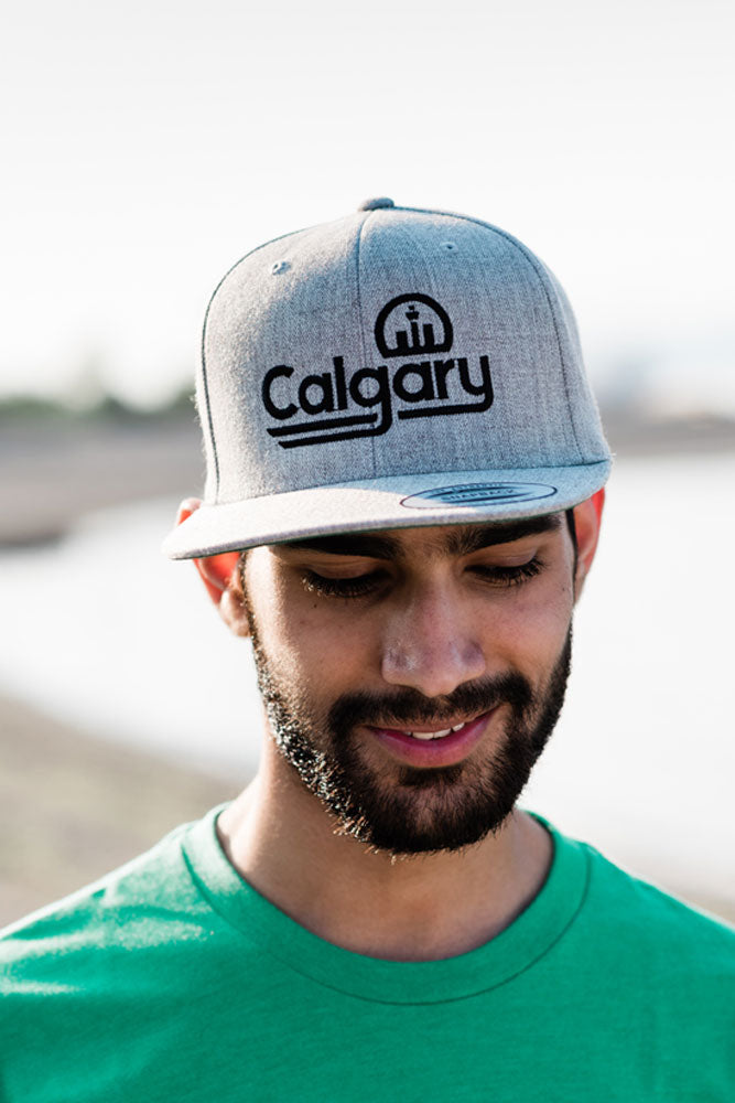 Retro Calgary Snapback Cap - Ole Originals Clothing Co.