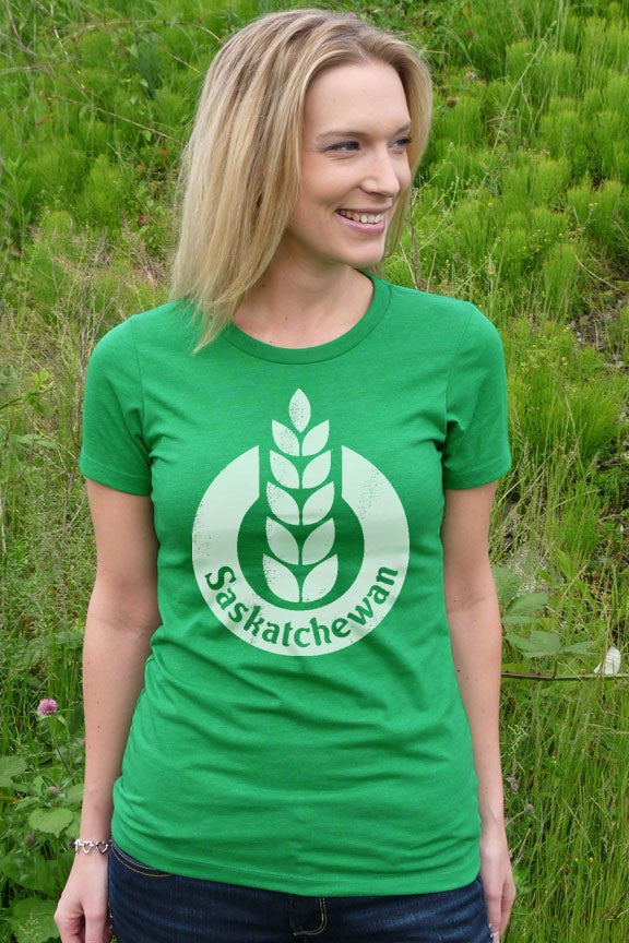 Saskatchewan T-shirt - Women - Ole Originals Clothing Co.
