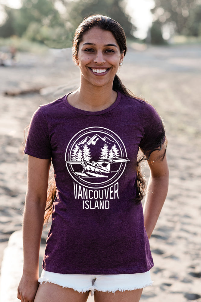 Van Island T-shirt - Womens - Ole Originals Clothing Co.