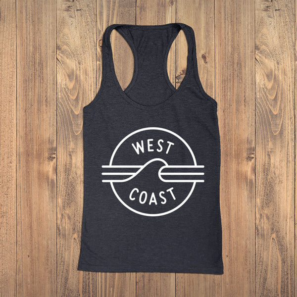 West Coast 2019 Tank - Womens - Ole Originals Clothing Co.