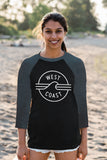West Coast Baseball Shirt (Unisex) - Ole Originals Clothing Co.