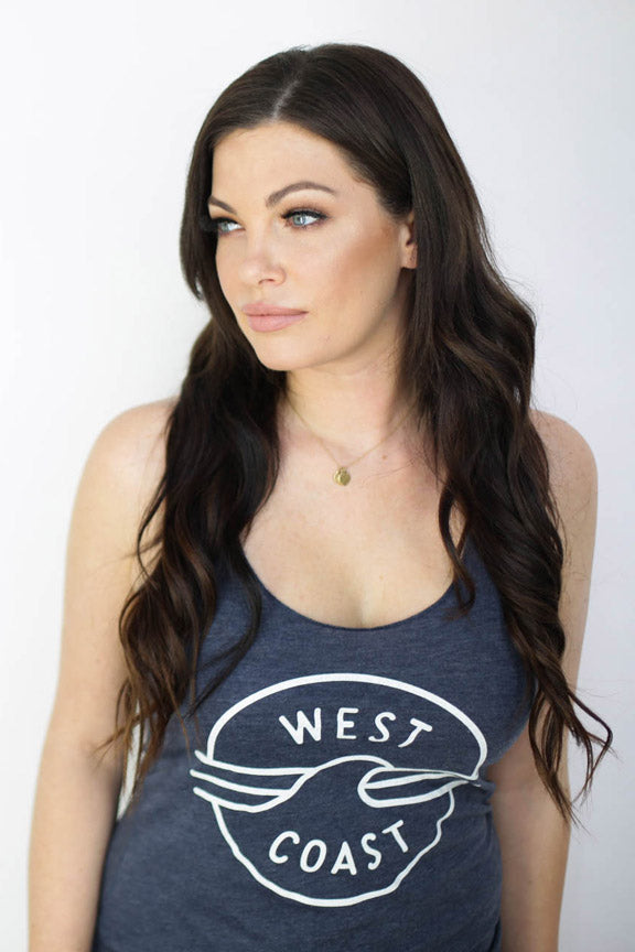 West Coast Tank- Womens - Ole Originals Clothing Co.