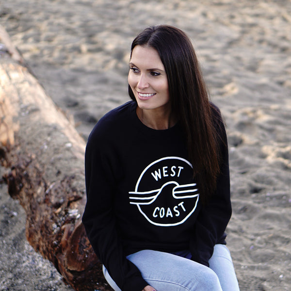 West Coast Sweatshirt (Unisex) - Ole Originals Clothing Co.