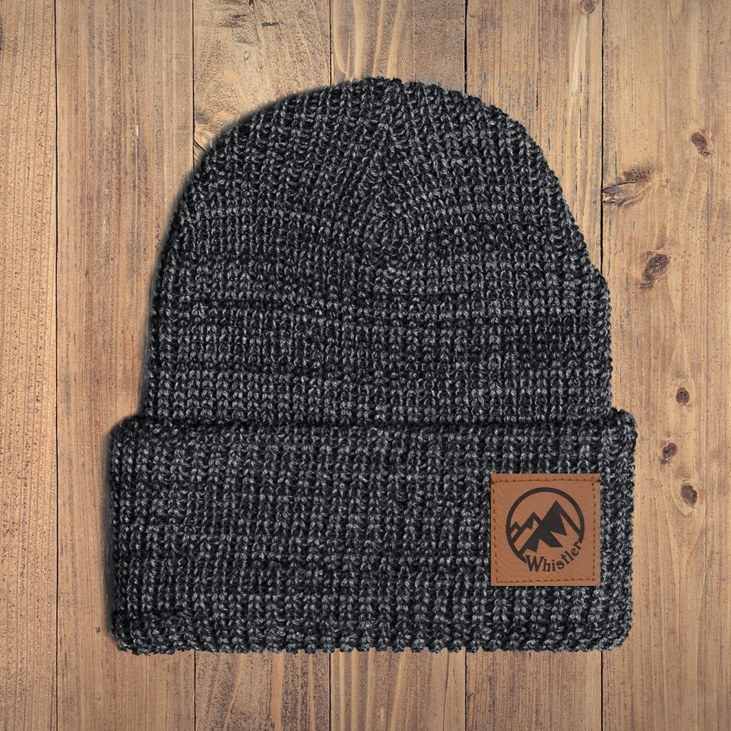 Whistler Mountain Chunky Knit Youth Toque - Ole Originals Clothing Co.