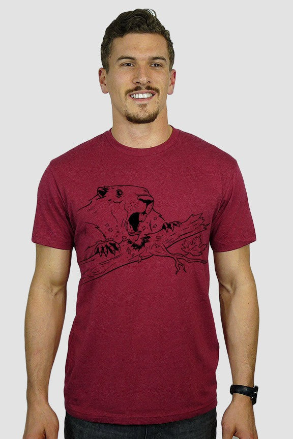 Canadian BEAVER T-SHIRT - Ole Originals Clothing Co.