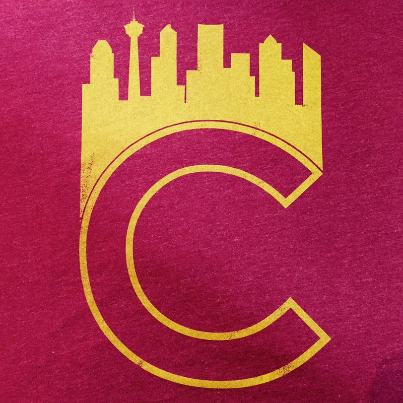 Calgary 'C' T-shirt - Ole Originals Clothing Co.
