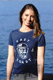 East Coast T-shirt - Womens - Ole Originals Clothing Co.