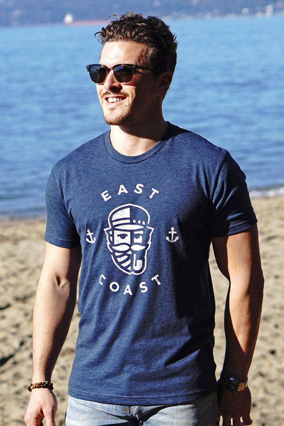 East Coast T-shirt - Ole Originals Clothing Co.
