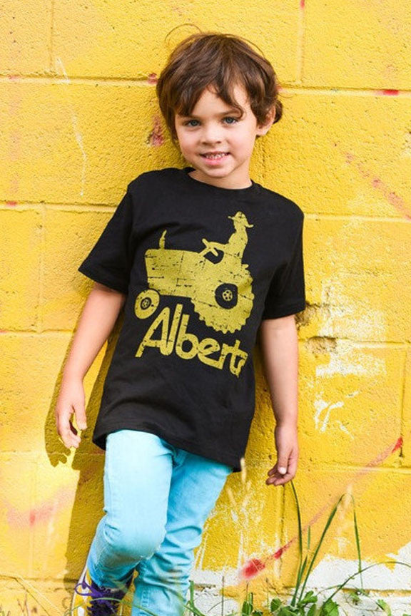 Boys Alberta Tractor T-shirt - Ole Originals Clothing Co.