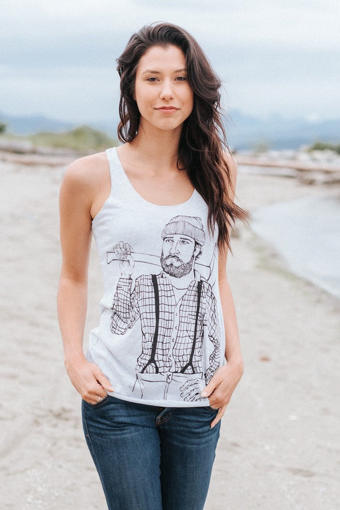 Lumberjack Tank - Womens - Ole Originals Clothing Co.