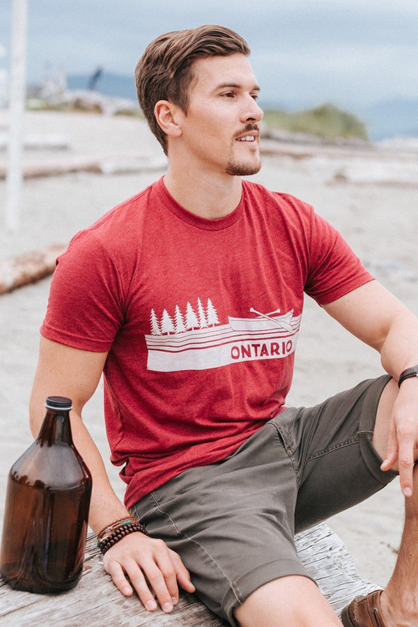 Retro Ontario T-shirt - Ole Originals Clothing Co.