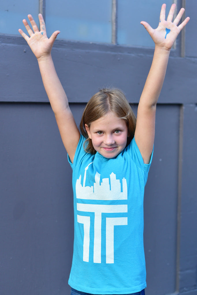 Girls Toronto 'T' T-shirt - Ole Originals Clothing Co.