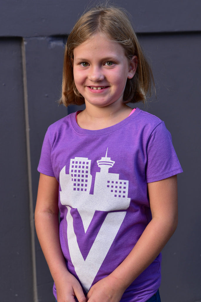 Girls Vancity T-shirt - Ole Originals Clothing Co.