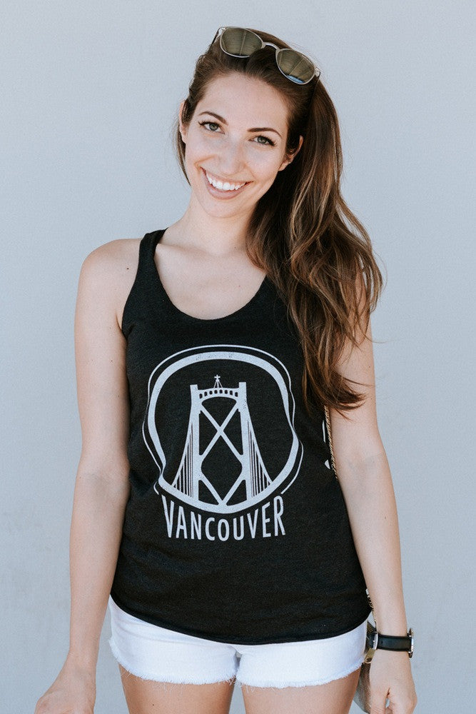 Vancouver Lions Gate Tank - Womens - Ole Originals Clothing Co.