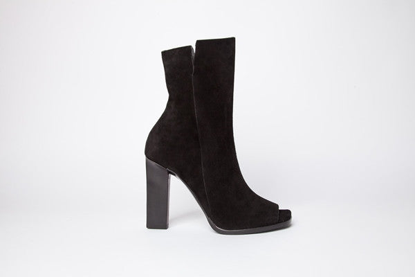Bowie Boot BLK Kidsuede
