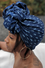 Pinya | Denim Head Wrap