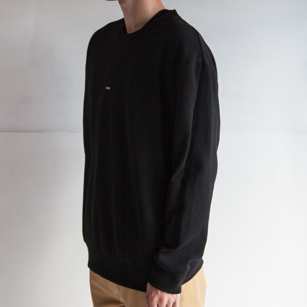 THE '3' SWEAT / BLACK / LITTLE H I H.