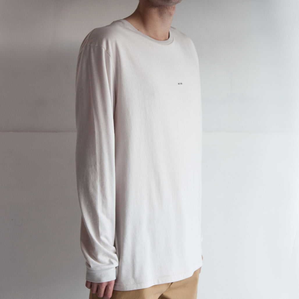 THE CUFFED LS TEE / OFF WHITE / LITTLE HIH.