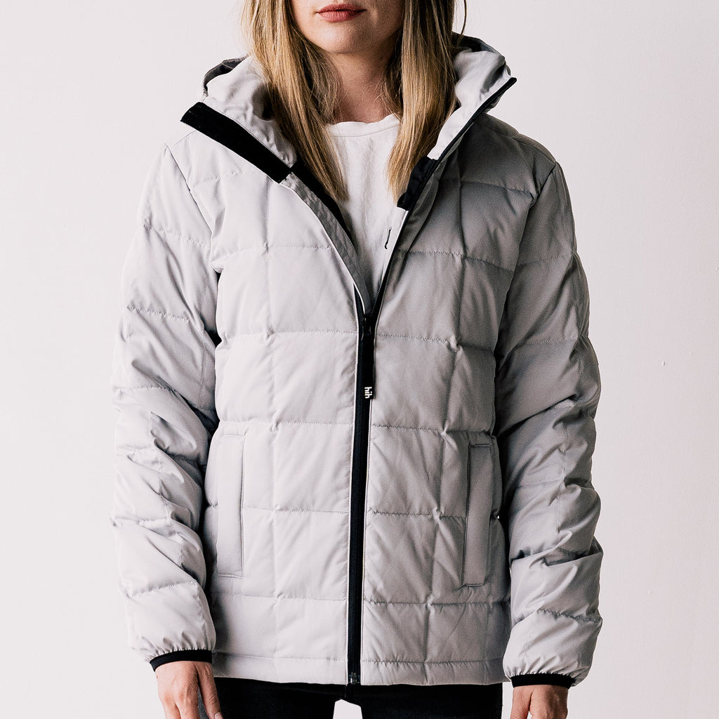 THE GOOSEY JACKET -  GREY / WOMENS & MENS SIZES
