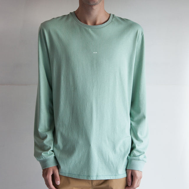 THE CUFFED LS TEE / MOSS / LITTLE HIH.