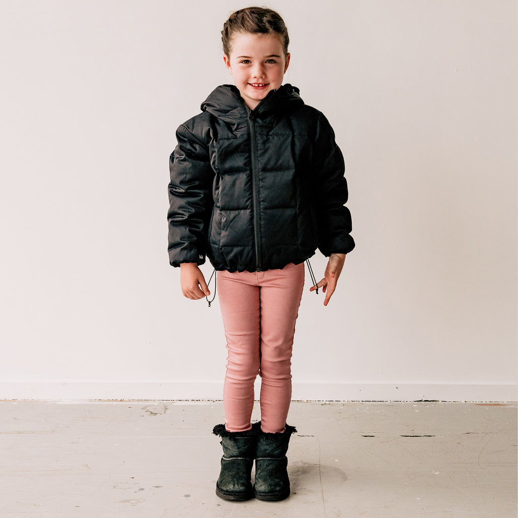 THE GOOSEY JACKET - KIDS / BLACK.