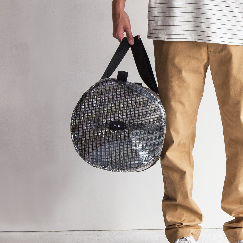 THE CARBON FIBRE DUFFLE BAG.