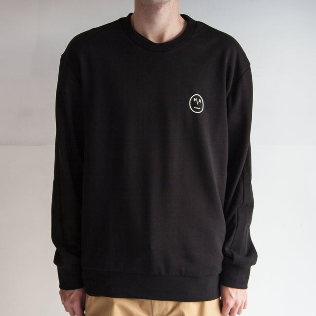 THE '3' SWEAT / BLACK / COMPLACENT H I H.