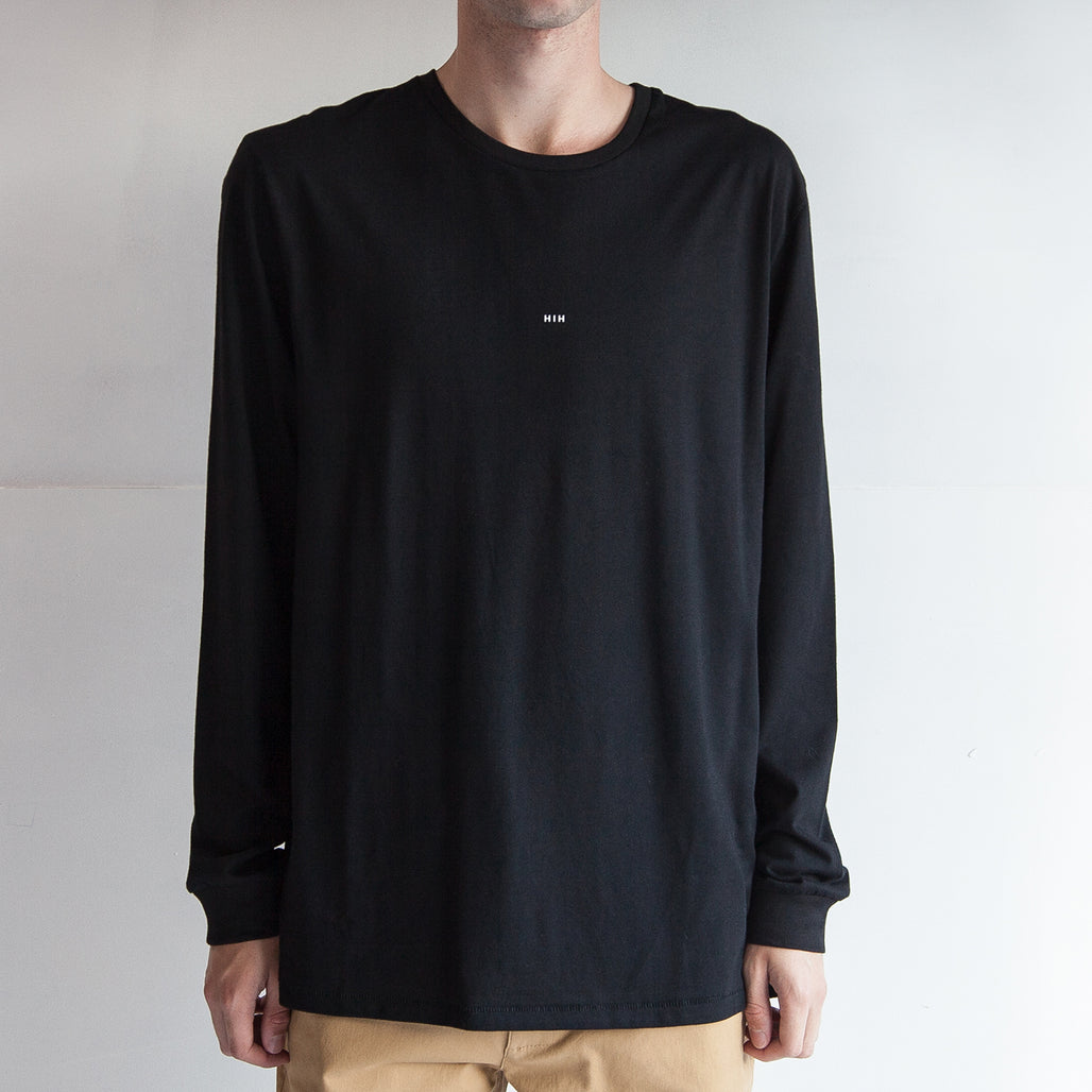THE CUFFED LS TEE / BLACK / LITTLE HIH.