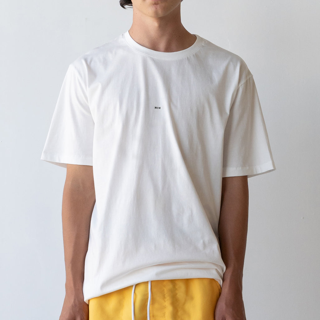 THE LONG REGGIE TEE / WHITE / LITTLE HIH
