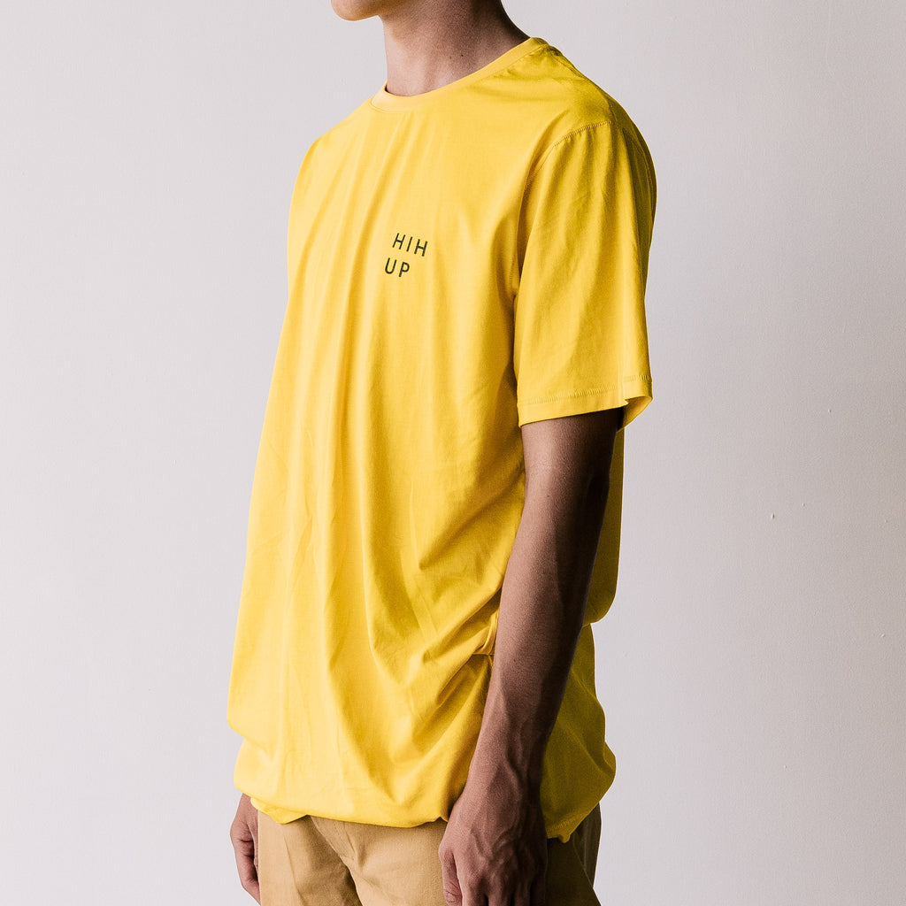 THE LONG REGGIE TEE / YELLO MUSTARD / H I H UP