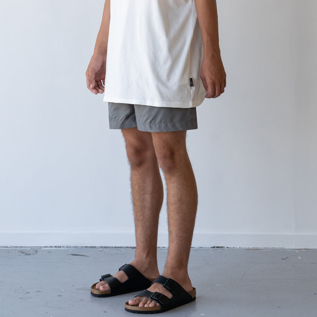 THE STABLE SWIM SHORT / GREY