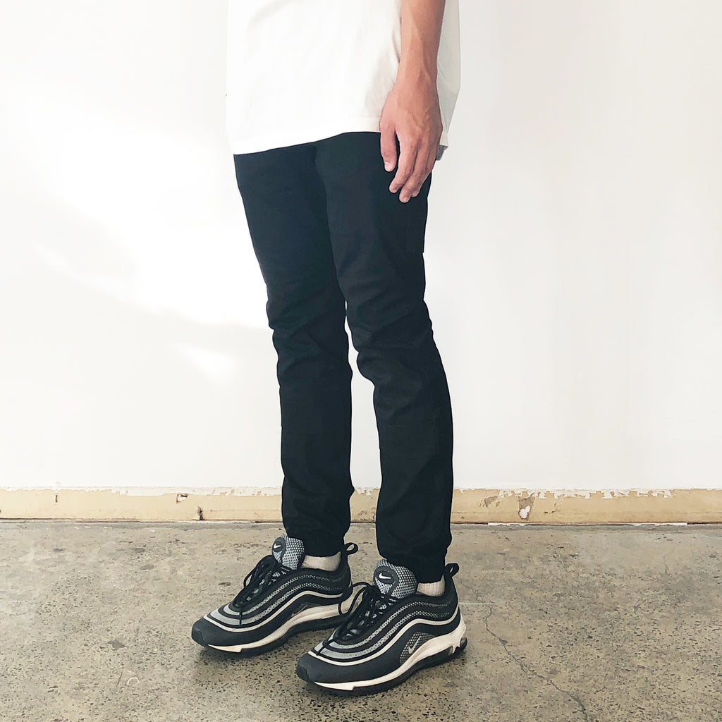 THE VENTILATED JORDAN PANT / BLACK.